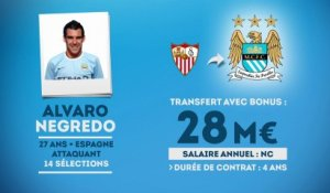 Officiel : Negredo débarque à Manchester City !