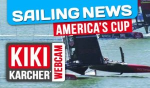 Oracle Team USA remporte les Régates 14 & 15 | America's Cup | Kiki Karcher's Webcam