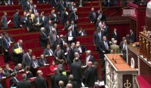 Incident sexiste à l'Assemblée nationale