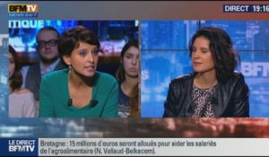 L'interview de Najat Vallaud-Belkacem par Apolline de Malherbe - BFM Politique - 3/3