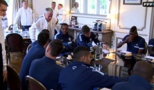 Deschamps : interview exclusive avant Ukraine - France
