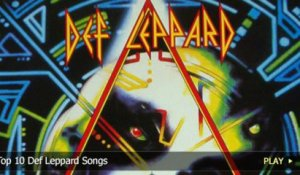 Top 10 Def Leppard Songs