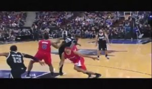 Alley-oop DUNK de folie - Kings conte Clippers