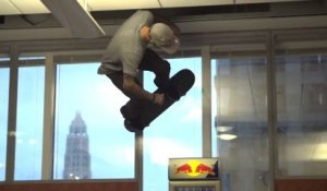 Skateboard - Over a Chicago office space - 2013