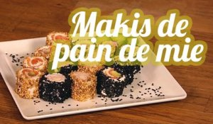 Makis de pain de mie