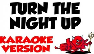 Turn The Night Up - Enrique Iglesias Karaoke Version And Lyrics
