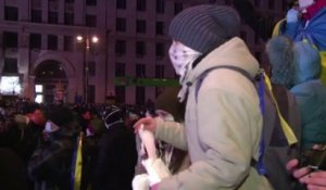 Ukraine: violents affrontements à Kiev