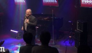 Michel Jonasz - Everyday i got the blues en live dans le Grand Studio RTL