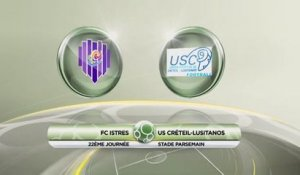 Istres 3 - 2 USCL - J22 S13/14