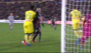 But Olivier VEIGNEAU (81ème) - FC Nantes - Paris Saint-Germain - (1-2) - 04/02/14 - (FCN-PSG)