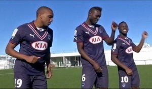 "Le making-of du clip ""Happy We are from Bordeaux"" aux Girondins"