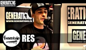 RES - Freestyle (Live des studios de Generations)