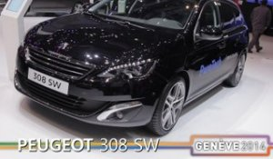 La Peugeot 308 SW en direct du salon de Genève 2014