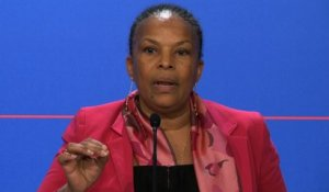Point de presse de Christiane Taubira le 12 mars 2014