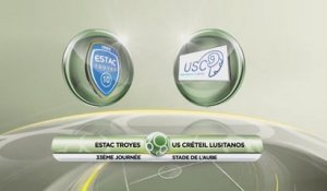 Troyes 0 - 3 USCL - J33 S13/14