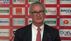 "Football / Ligue 1 - Ranieri : ""Ranieri, il continue"" 26/04"