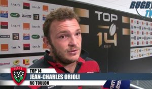 DEMI FINALE TOP 14 apres match Toulon-Racing Métro 92 - Delmas-Orioli-Labit-Battut