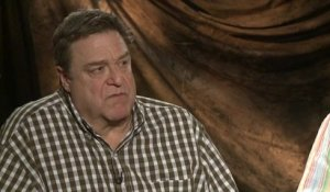 Monuments Men - Interview John Goodman (2) VO
