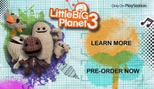 LittleBigPlanet 3 - E3 2014 Announce Trailer [HD]