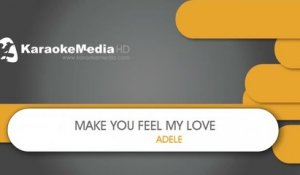 Make You Feel My Love - Adele - KARAOKE HQ