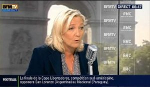 Bourdin Direct: Marine Le Pen - 31/07
