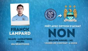 Officiel : Frank Lampard prêté à Manchester City !
