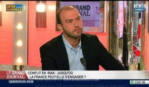 Guillaume Duval et Benjamin Masse-Stamberger, dans Le Grand Journal - 11/08 6/7