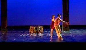 Musical dance performance at  4th Indo European Dance Festival (IEDF)