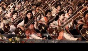 The first of its kind concert - mass sitar recital