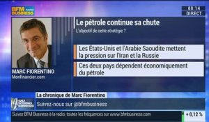 Marc Fiorentino: Le pétrole poursuit sa chute - 14/10