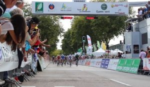 Le sprint final du Tour du Limousin 2014