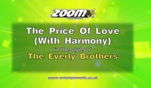 Zoom Karaoke - The Price Of Love (With Harmony) - The Everly Brothers