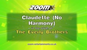 Zoom Karaoke - Claudette (No Harmony) - The Everly Brothers