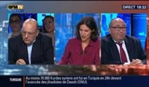 BFM Politique: L'interview BFM Business de Julien Dray par Emmanuel Lechypre - 21/09 2/6