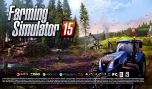 Farming Simulator 15 (PS4) - Trailer d'annonce