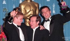 Mort de Robin Williams : Matt Damon s'exprime enfin