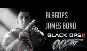 James Bond sur Black ops 2 par Blagops