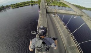 GoPro Epic Bridge Riding