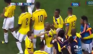 Le but incroyable de James Rodriguez pendant l'amical Colombie-Canada