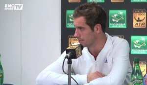 "Tennis / Gasquet : ""On est à fond à Bercy"" 27/10"