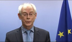 "Herman Van Rompuy ""horrifié!"""