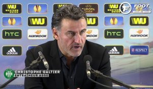 ASSE - Inter : la réaction de Galtier