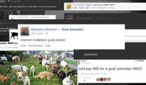 Goat Simulator - MMO Version - Trailer