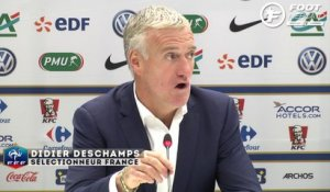 France - Suède : la réaction de Deschamps