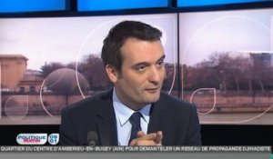 "Florian Philippot compare le Petit Journal à ""Closer, Groland et Picsou Géant"""