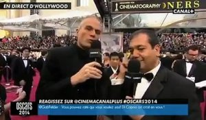 Oscars 2014 : Laurent Weil harangue les Daft Punk