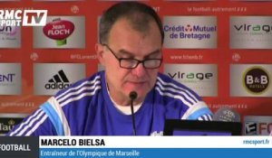 "Football / Bielsa sur Gignac : ""On verra cela au moment opportun"" 02/12"