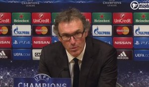 Barça - PSG : la réaction de Laurent Blanc