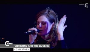 "Christine and the Queens ""Christine"" - C à vous - 15/12/2014"