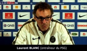 Blanc évoque le match contre Montpellier